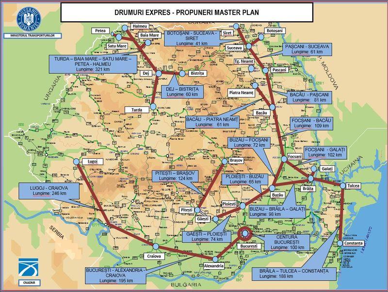 Drum Expres Bistriţa Dej 60 Km Pe Lista Prioritaţilor