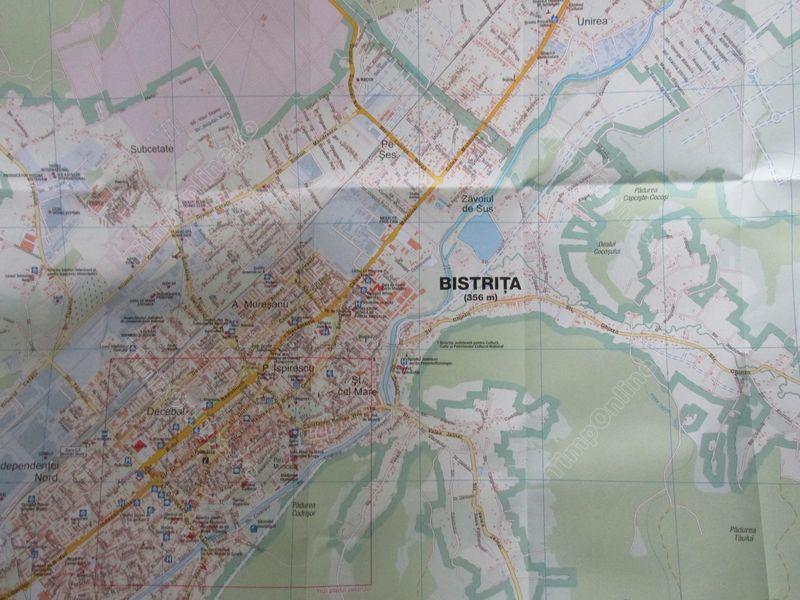 Noua Harta A Orasului Bistriţa O Invitaţie La Cunoastere Utila