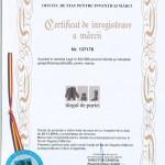 1 certificat targ de purici