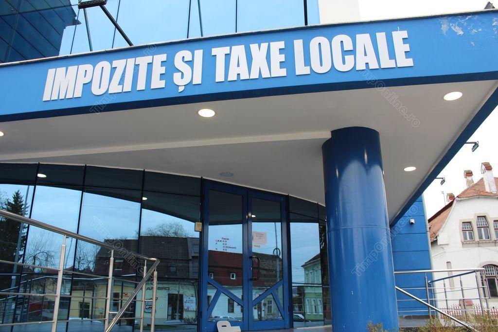 Noul program la ghișee pentru plata impozitelor și taxelor locale, în Bistrița