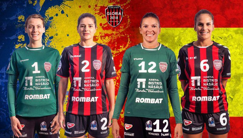 Patru handbaliste de la Gloria, la Euro 2020. Două pentru România, două pentru Spania