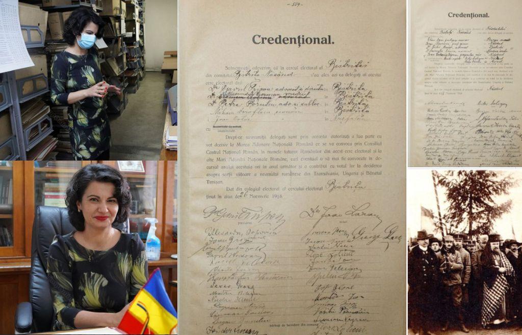 Arhivele Naționale scot la lumină lucruri mai puțin cunoscute despre implicarea bistrițenilor în Marea Unire de la 1918