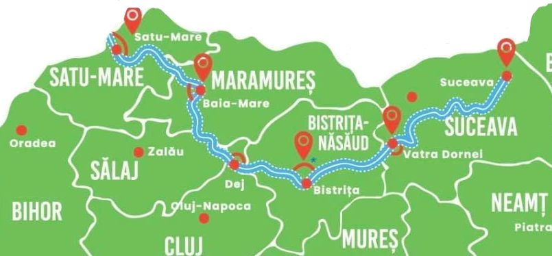 Se fac SF-urile pentru loturile Baia Mare – Bistrița și Bistrița – Vatra Dornei din Autostrada Nordului