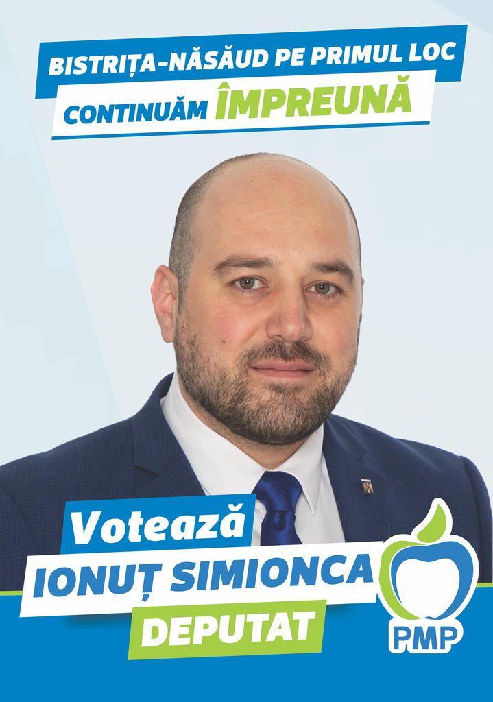 Ionuț Simionca: Un vot pentru echipa PMP înseamnă un vot pentru scoaterea din izolare a județului nostru