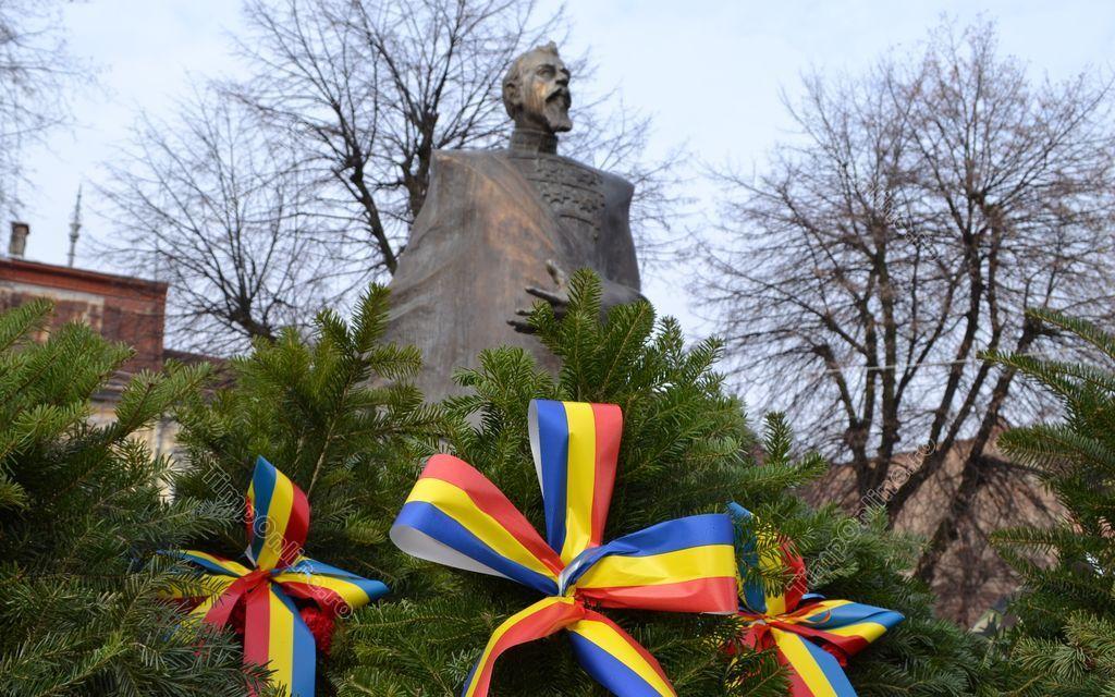 Ziua Unirii, sărbătorită la Bistrița fără tradiționala horă