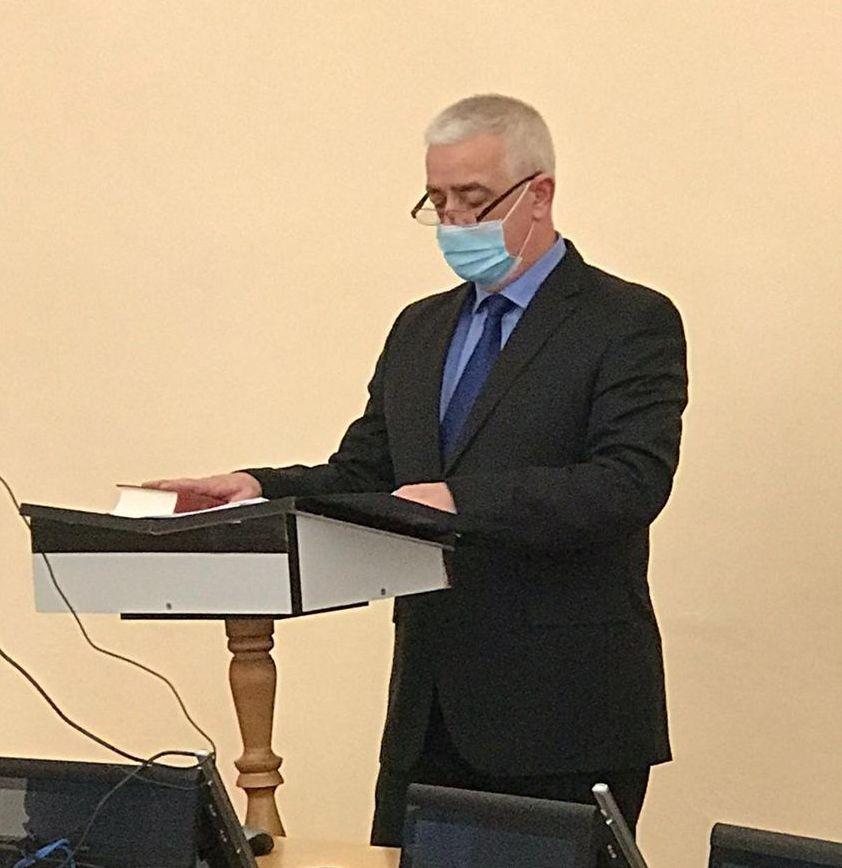 Ștefan Cicioc a depus jurământul de consilier local. Din ce comisie va face parte