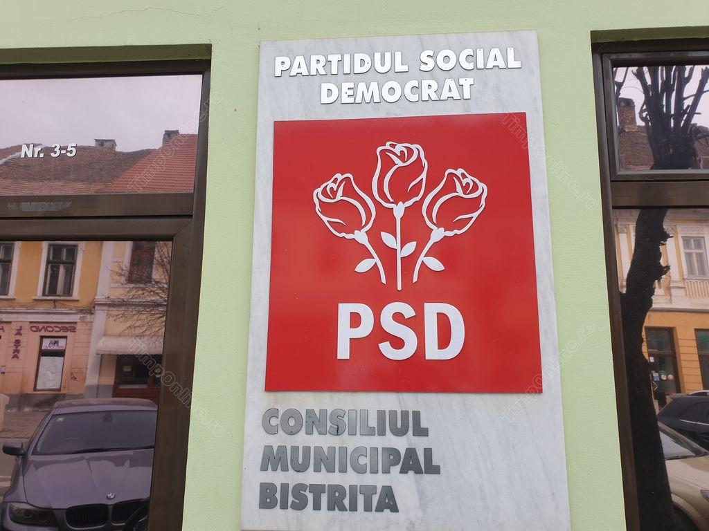A fost desemnată noua conducere a Organizației Municipale PSD Bistrița