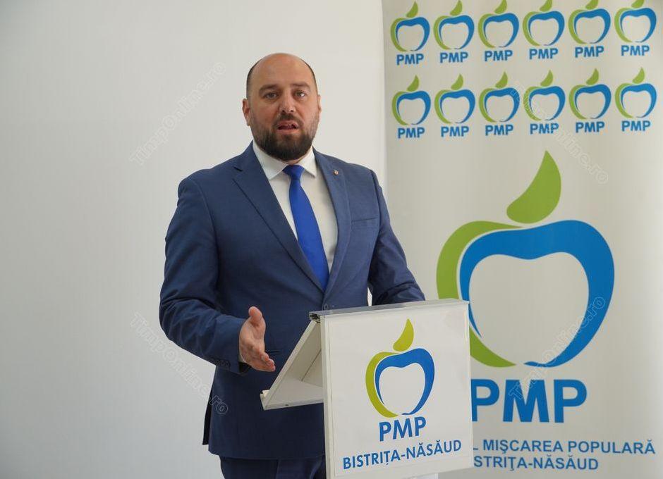 PMP BN își alege noua conducere. Ionuț Simionca, singurul candidat la funcția de președinte