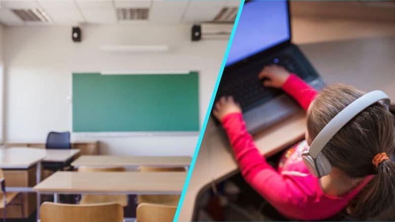 O serie de clase vor face cursuri online din cauza cazurilor de Covid